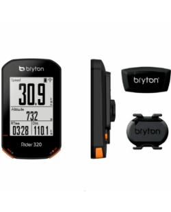 Bryton 320T, GPS, kit con sensores pulso y cadencia