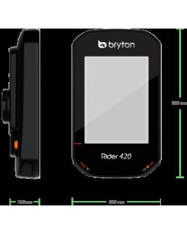 Bryton 420T, GPS, Kit con sensores cadencia y pulso