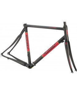 Cuadro Ritchey Break-Away Carbon Road, negro/rojo, talla A PEDIDO